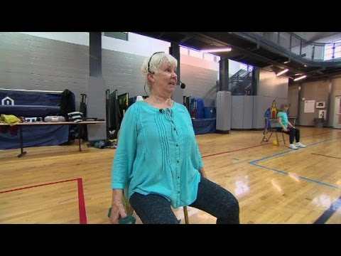 Seated Aerobics for Seniors