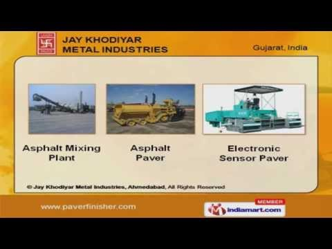 Road Construction Equipment by Jay Khodiyar Metal Industries, Ahmedabad, Ahmedabad