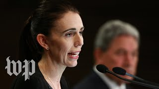 'They need to change': What New Zealand's prime minister has said about gun laws - WASHINGTONPOST
