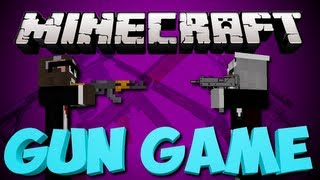 Minecraft NEW EPIC GUN GAME Minigame Server