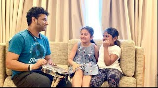 Devi Sri Prasad Shares Adorable Moments With Sitara | Sitara Started Singing At Devi sri Prasad Home - RAJSHRITELUGU