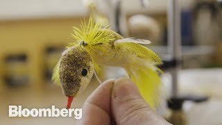 How to Tie a Fly - BLOOMBERG