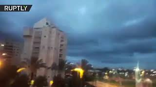 Sirens activated in central Israel as rocket from Gaza 'identified moving toward Israeli territory' - RUSSIATODAY
