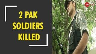 Breaking News: 2 Pakistani soldiers killed in retaliatory action by Indian Army in J&K - ZEENEWS
