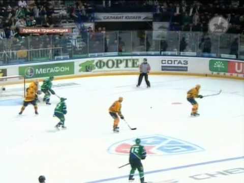КХЛ.Финал.2 матч.Гол Зиновьева. (3:1)