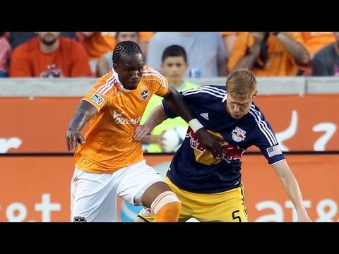 HIGHLIGHTS: Houston Dynamo vs New York Red Bulls, August 3, 2012