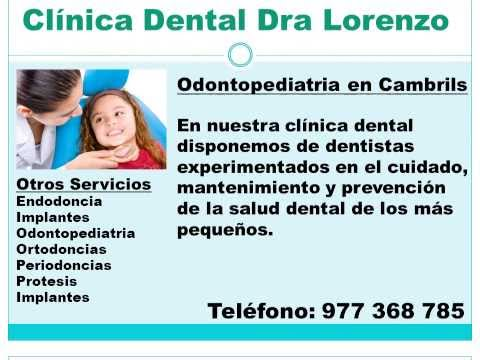 Odontopediatria Cambrils - Salou - Vilafortuny - Miami Platja
