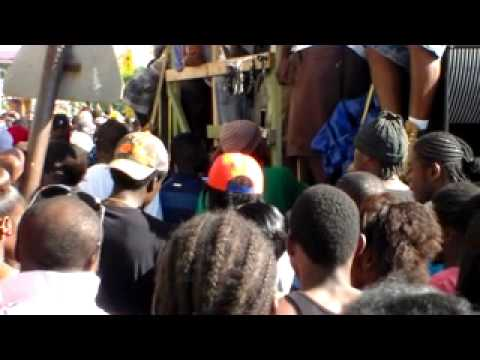 SANDY POINT BANG-A-LANG JOUVERT 2014 *SMALL AXE BAND JAM*
