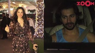 Kiara Advani spotted at a restaurant | Varun Dhawan spotted at the gym - ZOOMDEKHO