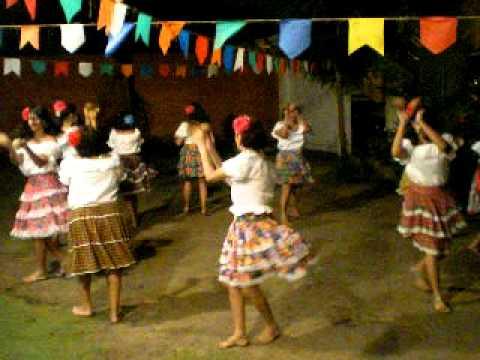Dança do côco( flor de mandacaru)