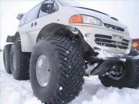 Вездеход Литвина. All-terrain vehicle Litvina 6x6