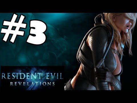 Resident Evil Revelations Walkthrough Part 3 Gameplay Review Let's Play Playthrough PC PS3 XBOX 360