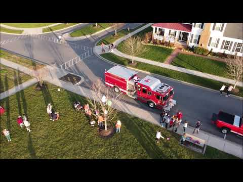 Leonardtown Fire Department * Santa Visit * 2020