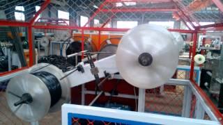Линия производства труб капельного орошения со встроенными п