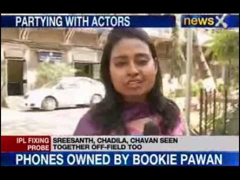 IPL Spot Fixing : Chandila in touch with other bollywood actors
