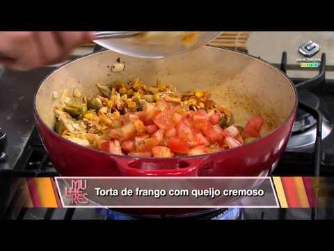 Mulheres - Torta de frango com queijo cremoso - 14/10/2013