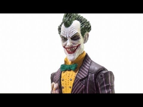 Video Review of the Batman: Arkham Asylum Series; Joker w/ Scarface