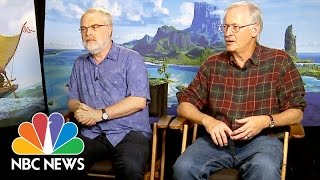 Behind the Scenes Of Disney's 'Moana': 'This Is the Way We Tell Our Stories' | NBC News - NBCNEWS