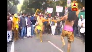 Rahul Gandhi's Coronation: Watch people dance and celebrate outside Congress' Delhi office - ABPNEWSTV