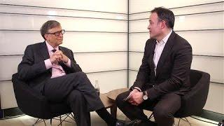 Bill Gates at the World Economic Forum - WSJDIGITALNETWORK
