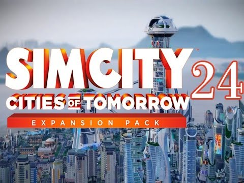 SimCity Cities of Tomorrow Expansion - Walkthrough Gameplay Let's Play - Part 24 - Roman's Palace
