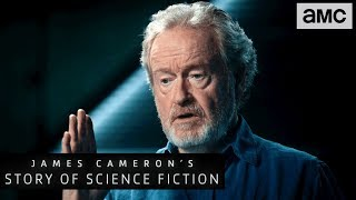 Ridley Scott on Why Filmmakers are the New Novelists | James Cameron's Story of Science Fiction - AMC