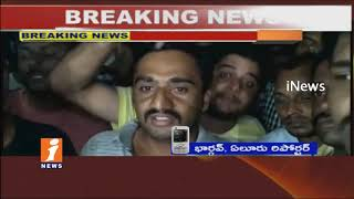 Police Beats Up Youth at Perupalem Beach | High Tension at Mogaltur Police Station | iNews - INEWS