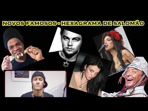 VÍDEO # 02 - HEXAGRAMA DE SALOMÃO - FAMOSOS BUSCAM A FORÇA DESTE TALISMÃ !