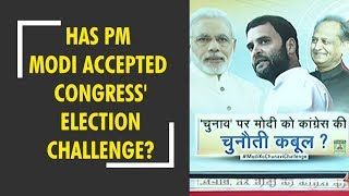 Has PM Modi accepted Congress' election challenge? Watch special debate - ZEENEWS