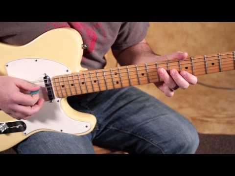 Blues Rock Guitar Lessons - Blues Rhythm Guitar Lessons - Rhythm Guitar