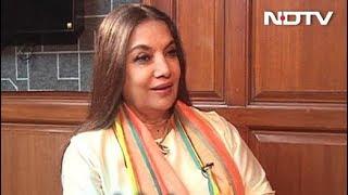अभिनेत्री शबाना आजमी से NDTV की खास मुलाकात - NDTVINDIA