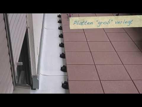 DDM Otto Gruß - Balkonsanierung mit Beton-Terrassenplatten
