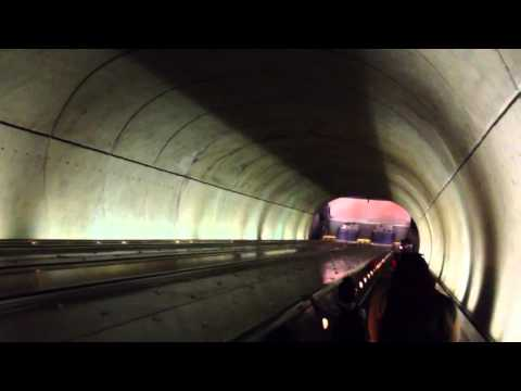 Worlds longest Escalator DC Marriott Wardman Metro Stop