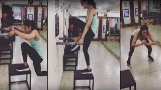 Rakul Preet Singh Workout In Gym Video  | Tollywood Updates | Latest Telugu Movies - RAJSHRITELUGU
