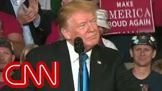 Trump stumps in Kentucky 24 days ahead of midterms - CNN
