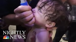 As Chemical Weapons Inspectors Reach Douma, Syria Says Suspected Attack Was Fake | NBC Nightly News - NBCNEWS