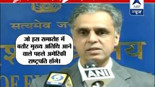 Obama caught between India-Pakistan l Sharif asks him to raise Kashmir issue on India visit - ABPNEWSTV