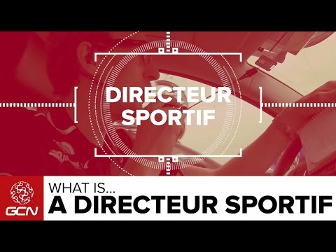 What Is A Directeur Sportif? | Road Racing Explained