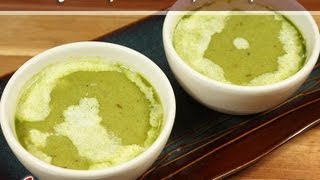 Green Pea Soup Recipe by Manjula