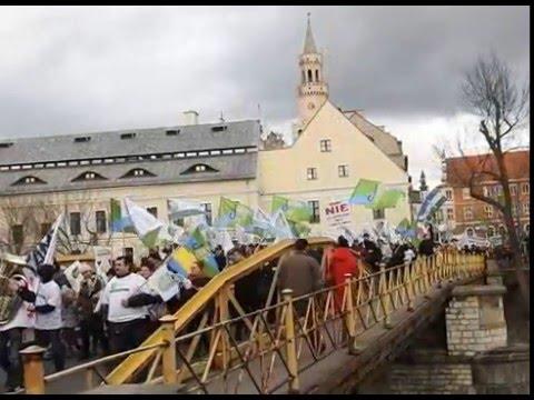 Manifestacja w Opolu.