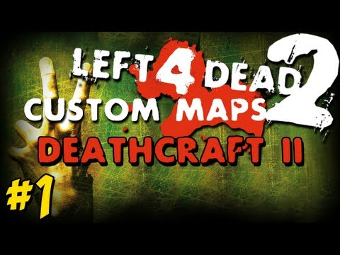 L4D2 Minecraft DeathCraft II Co Op Crazy Fun Map
