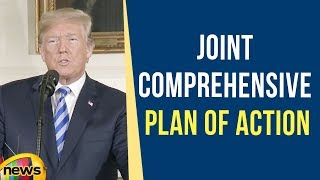 President Trump Gives Remarks on the Joint Comprehensive Plan of Action | Mango News - MANGONEWS