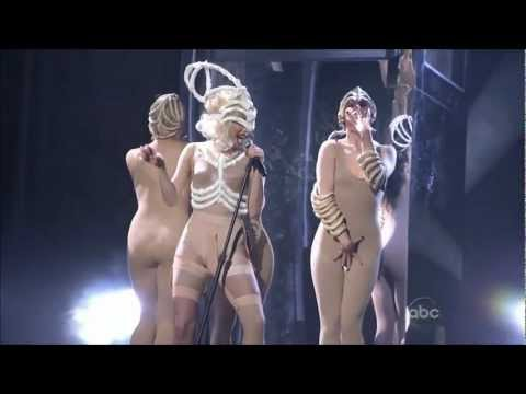 Lady Gaga American Music Awards Bad Romance Speechless live 2009 HD