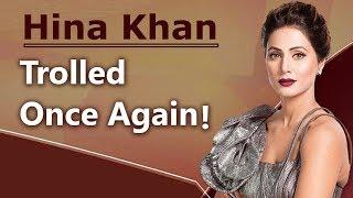 OMG ! Hina Khan and Rocky get TROLLED - ABPNEWSTV