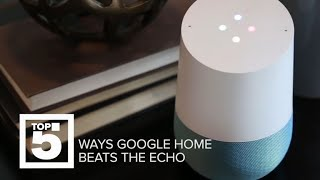 How the Google Home is better than the Amazon Echo (Top 5) - CNETTV