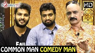 Build your Own Pizza with Pizza Table Guys – Hari and Murtuza | Common Man Comedy Man | Bosskey TV