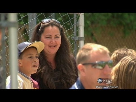 Hero Mom Saves Boy Hit by Life Threatening Baseball Pitch