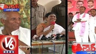 Min.DK Aruna's Family Occupied Gadwal - Teenmaar News - V6NEWSTELUGU