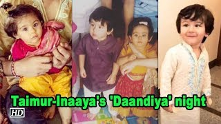 Watch Taimur-Inaaya's 'Daandiya' night with Laksshya - IANSLIVE