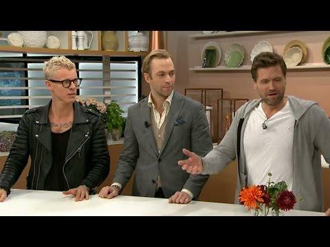 Pappapanelen om barnuppfostran - Nyhetsmorgon (TV4)